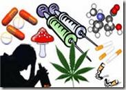 Ingiriendo alcohol, drogas y más